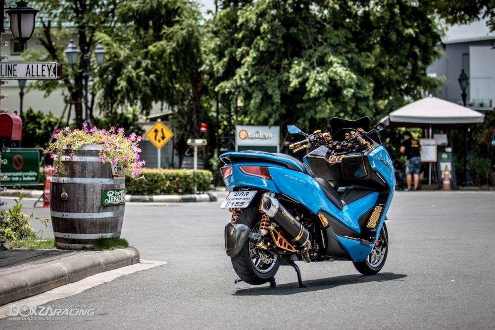 Honda Forza 300 do hang loat do choi biker day phong cach - 14
