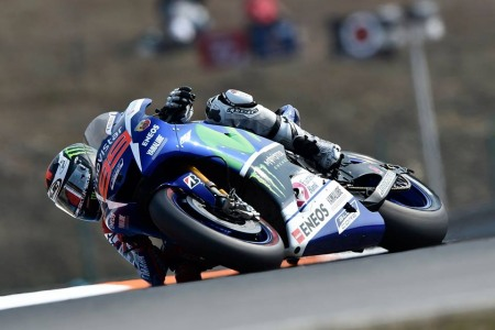 Jorge Lorenzo lap ky luc moi tai Automotodrom Brno Sec - 10
