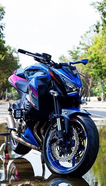Kawasaki Z800 dan ao son tem doc la cua biker Sai Gon - 5