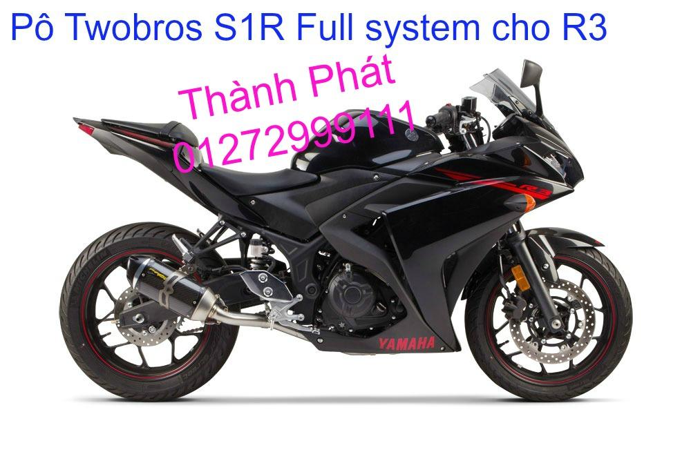 Po Twobros Hang chinh hang cho Ninja 300 R3 MSX125 Z800 Z1000 CBR1000 - 6