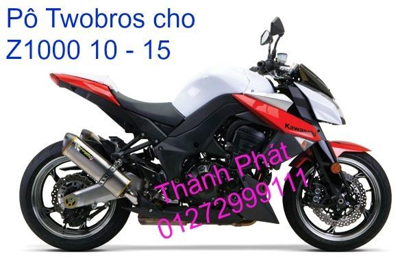 Po Twobros Hang chinh hang cho Ninja 300 R3 MSX125 Z800 Z1000 CBR1000 - 21