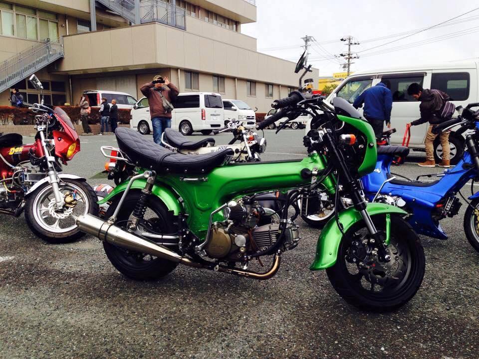 Tong hop nhung mau xe Honda DAX do cuc soc - 2
