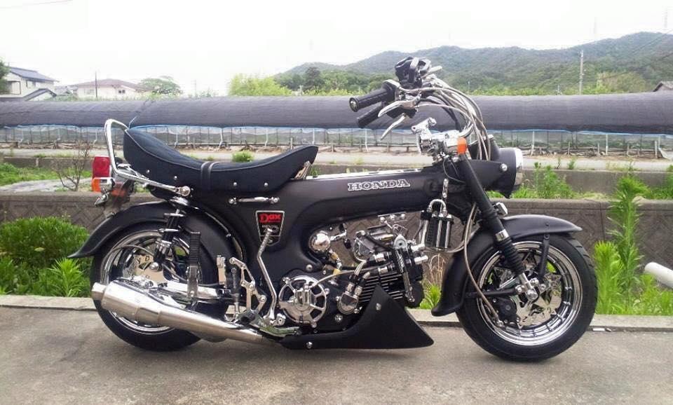 Tong hop nhung mau xe Honda DAX do cuc soc - 4