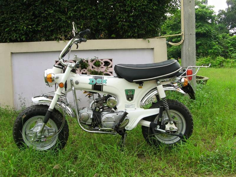 Tong hop nhung mau xe Honda DAX do cuc soc - 6