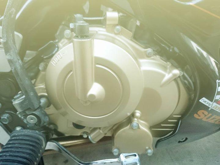 Up Suzuki Satria F150 tu con Raider cui bap - 4