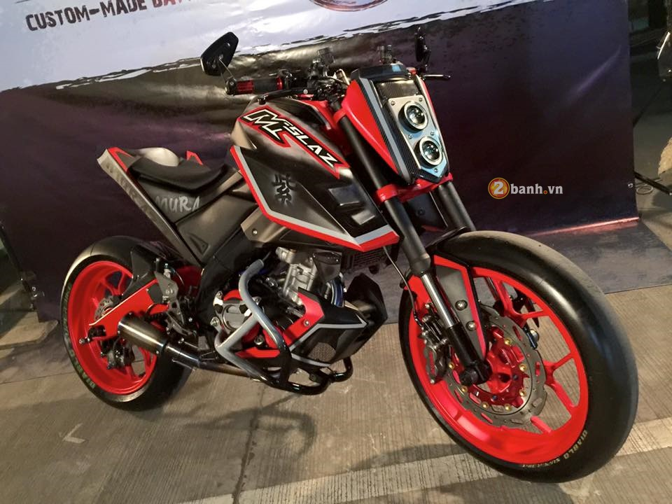 Yamaha MSlaz day an tuong voi phong cach StreetFighter - 2