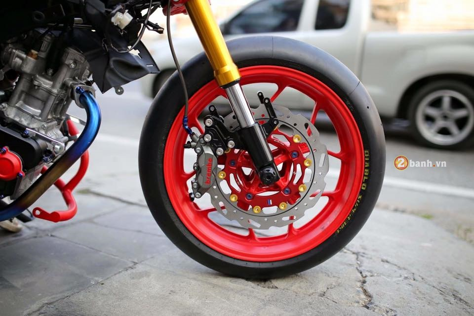 Yamaha MSlaz day an tuong voi phong cach StreetFighter - 4