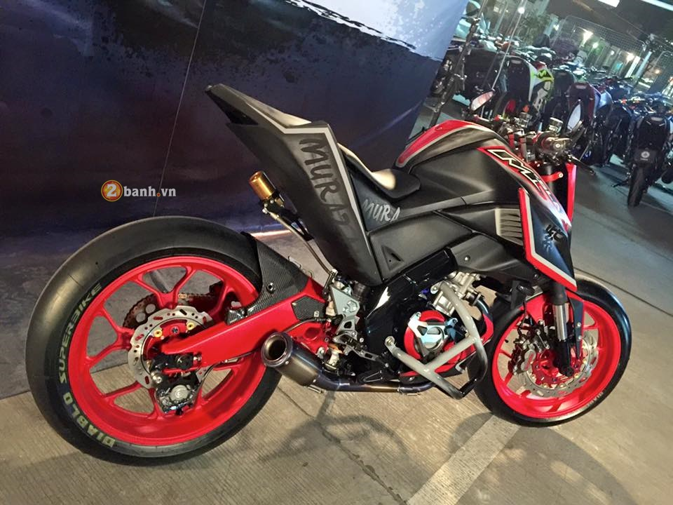Yamaha MSlaz day an tuong voi phong cach StreetFighter - 6