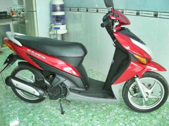 Ban xe Honda Click 2008 mau do