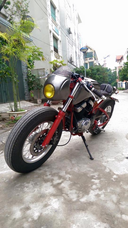 Ban Yamaha virago250 do Cafe Racer cuc doc - 7