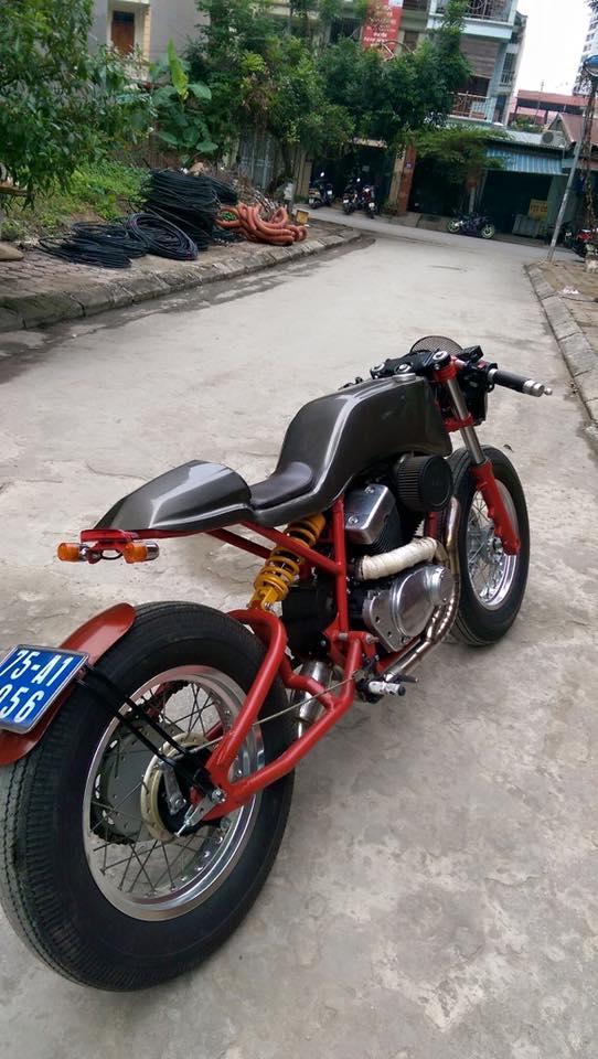 Ban Yamaha virago250 do Cafe Racer cuc doc - 8