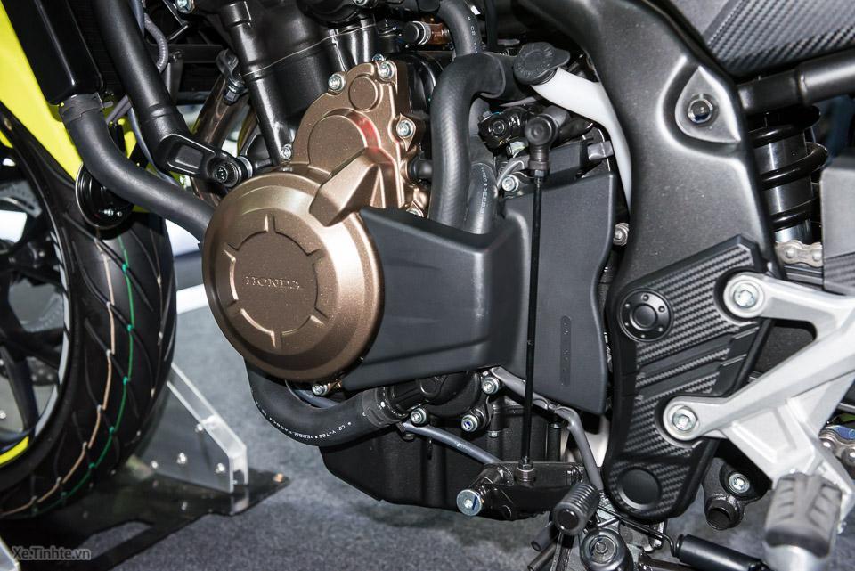 Can canh Honda CB500F 2016 gia 133 trieu dong tai Bangkok Motor Show - 4