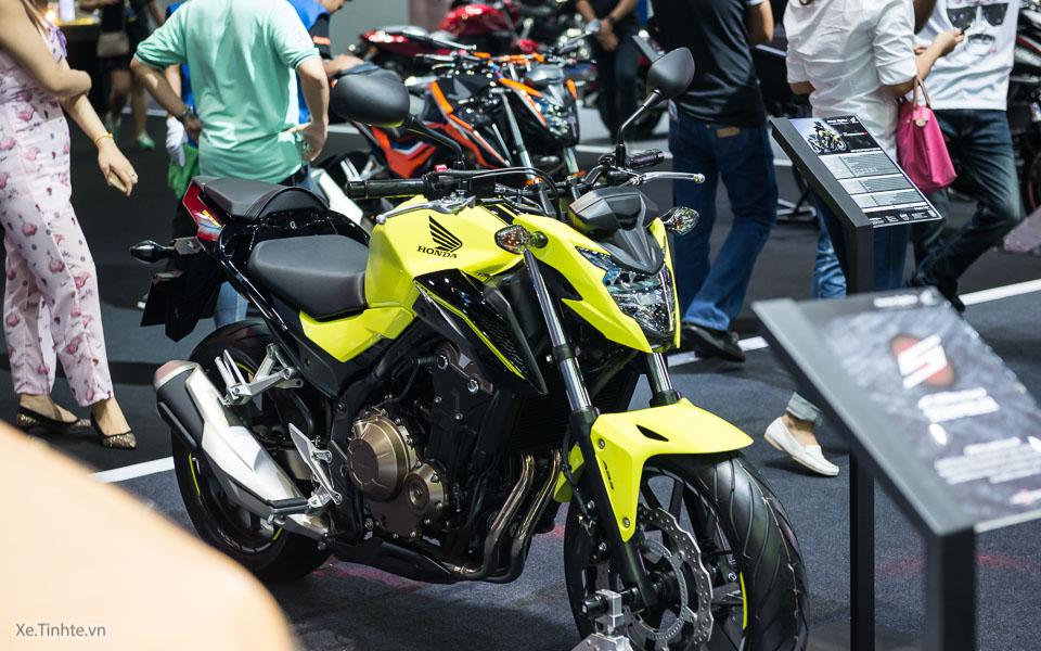 Can canh Honda CB500F 2016 gia 133 trieu dong tai Bangkok Motor Show - 6