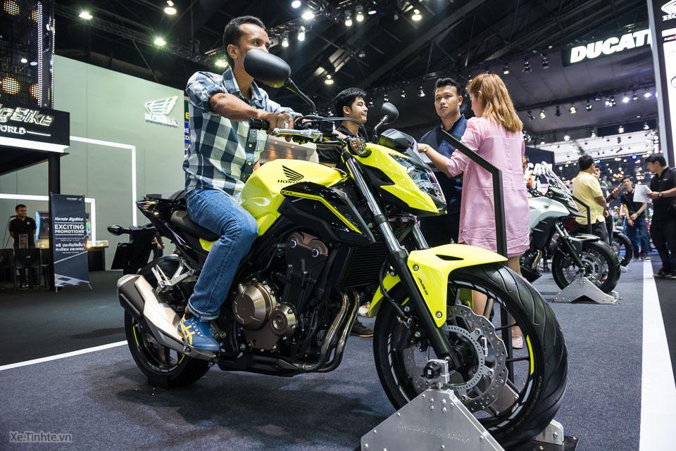 Can canh Honda CB500F 2016 gia 133 trieu dong tai Bangkok Motor Show - 9