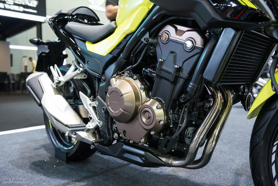 Can canh Honda CB500F 2016 gia 133 trieu dong tai Bangkok Motor Show - 22