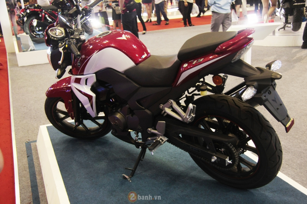 Can canh SYM Wolf T3 mau nakedbike hien dai va the thao - 13