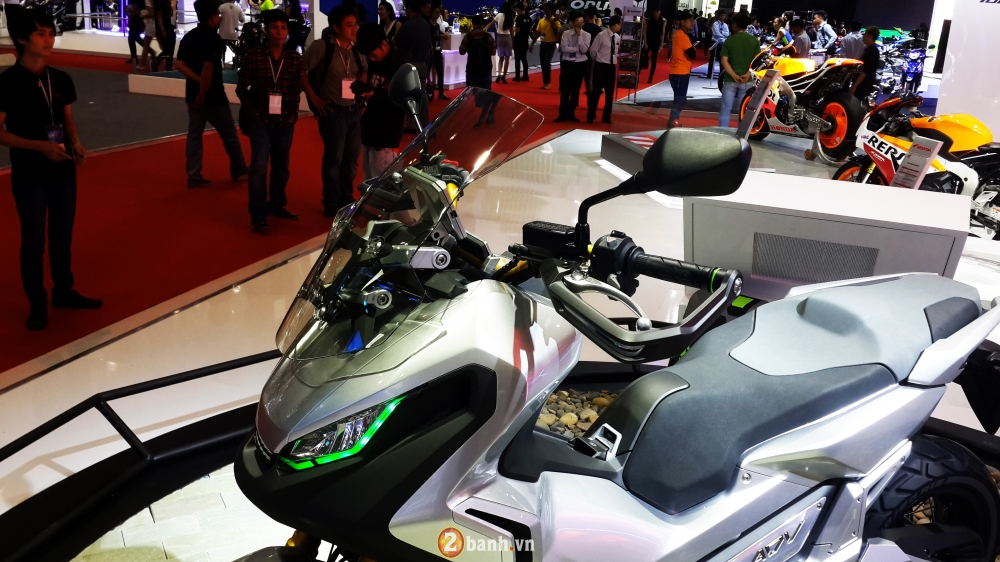 Chi tiet Honda City ADV Concept mau xe tay ga da dia hinh tai VMCS 2016 - 4