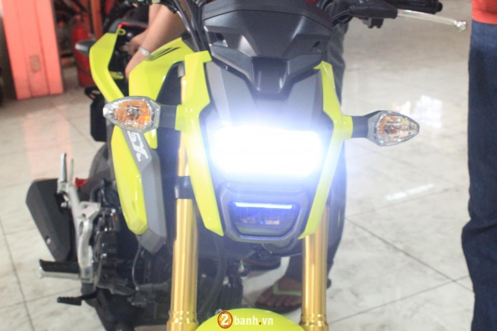 Chi tiet Honda MSX 125 2016 dau tien tai Viet Nam voi gia hon 80 trieu Dong - 13