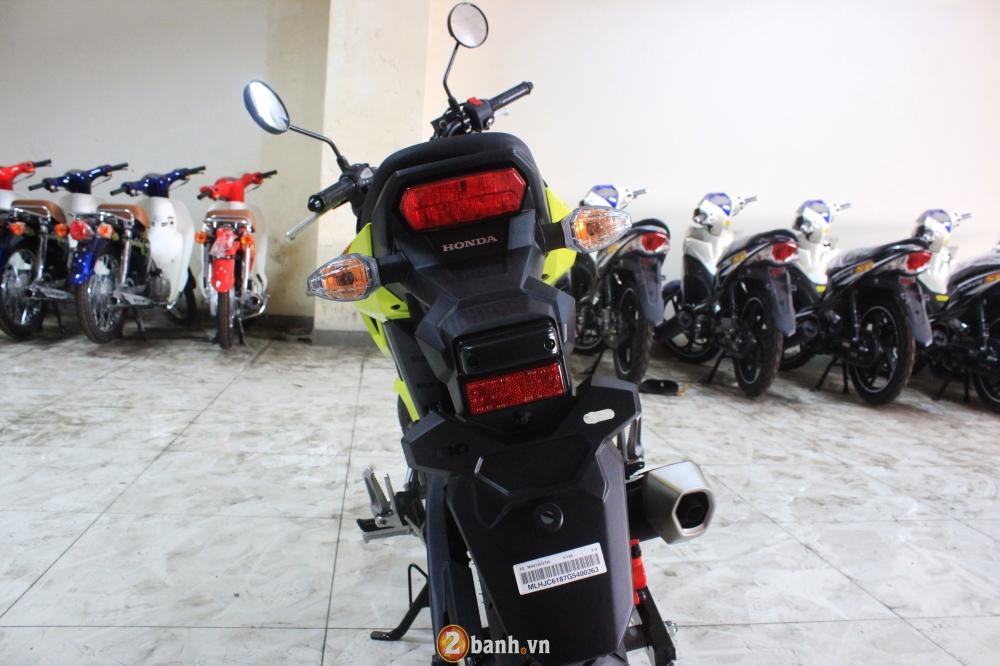 Chi tiet Honda MSX 125 2016 dau tien tai Viet Nam voi gia hon 80 trieu Dong - 18