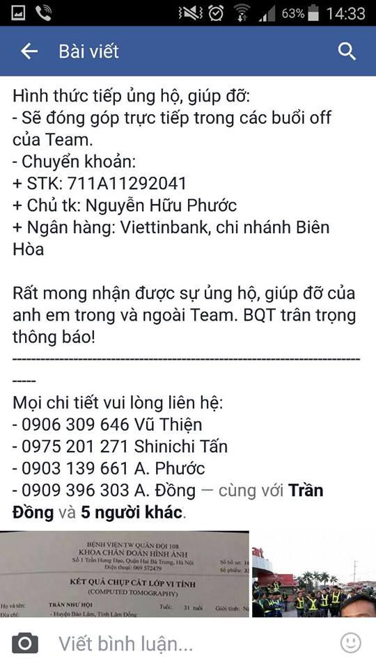 Chuong trinh san se yeu thuong giup ban Tran Hao Nam - 2