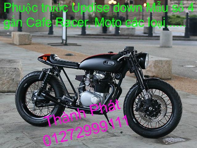 Chuyen phu tung zin va Sen Nhong Dia Honda CB250 CB125 RebeL LA 250 CD125 Yamaha Virago - 20