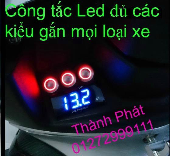 Chuyen Phu tung Zin Honda PCX Thailan va VN doi 2011 doi 2014 day du het do mu va do may Gia tot u - 38