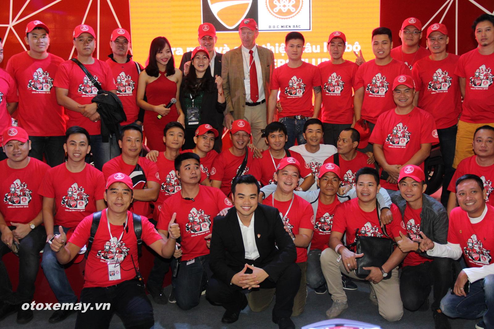 DOC Mien Bac chinh thuc nhap hoi Ducatisti the gioi - 11
