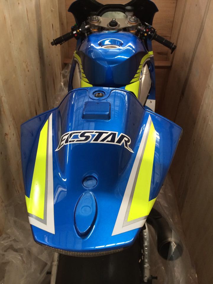 Dap thung sieu xe dua MotoGP Suzuki GSXRR tai Viet Nam - 8