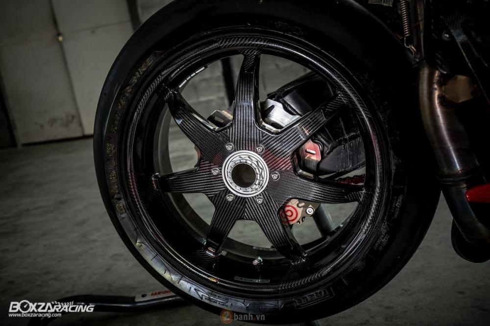 Ducati 1098R phien ban gioi han Troy Bayliss do sieu khung tu JC Superbike - 20