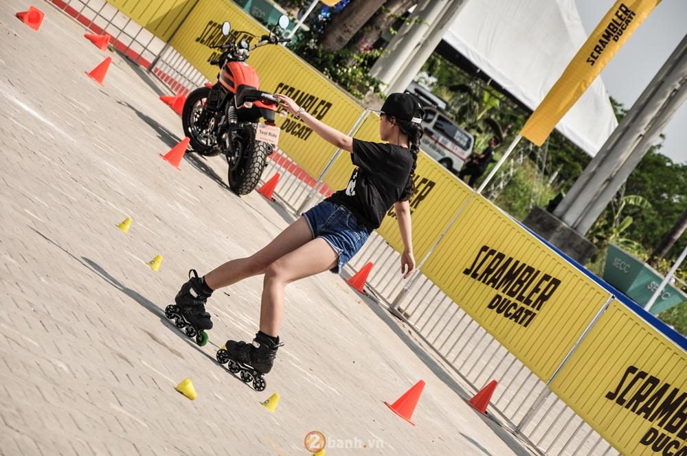 Ducati Scrambler noi bat day phong cach tai Viet Nam Motorcycle Show 2016 - 10