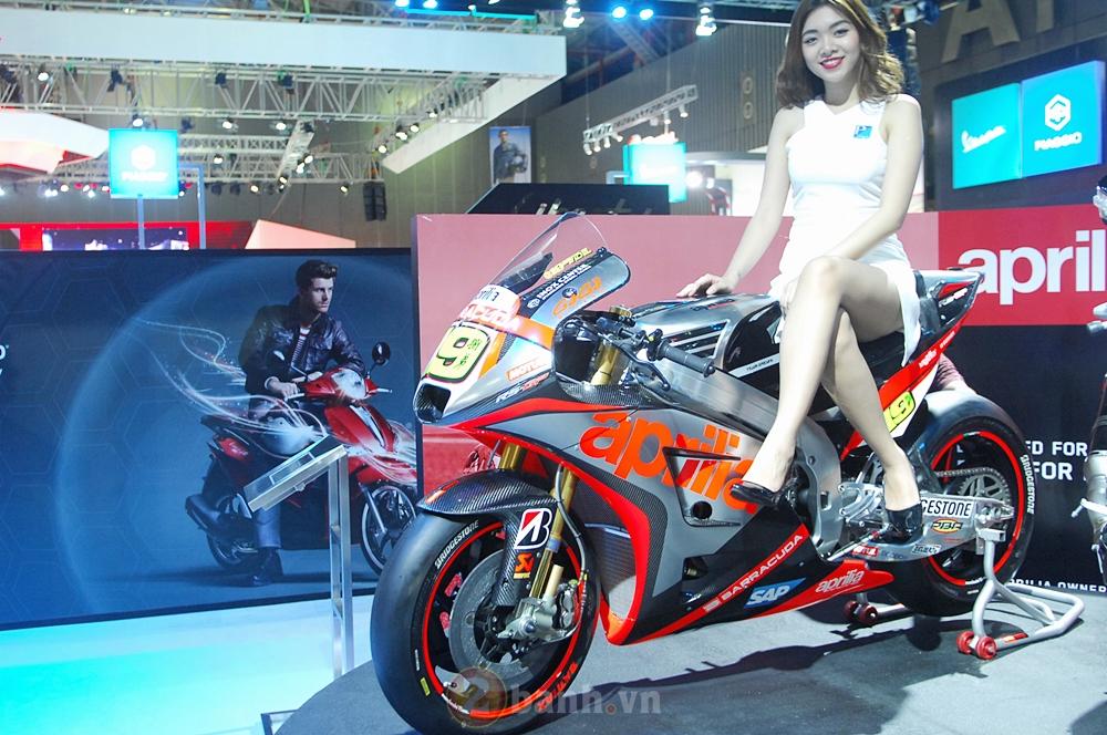 Hinh anh cua Piaggio Viet Nam tai Trien Lam Moto Xe May Viet Nam 2016 - 3
