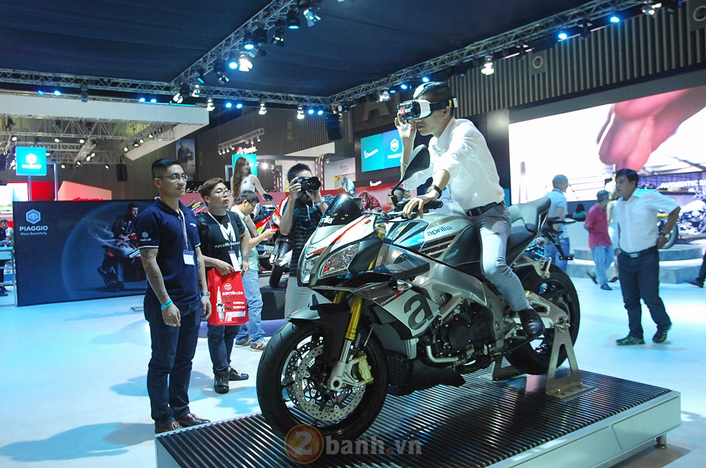 Hinh anh cua Piaggio Viet Nam tai Trien Lam Moto Xe May Viet Nam 2016 - 10