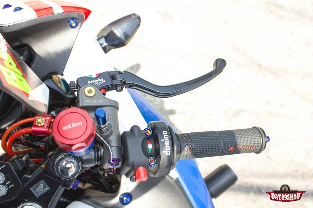 Honda CBR150 do day phong cach cua biker Viet - 4