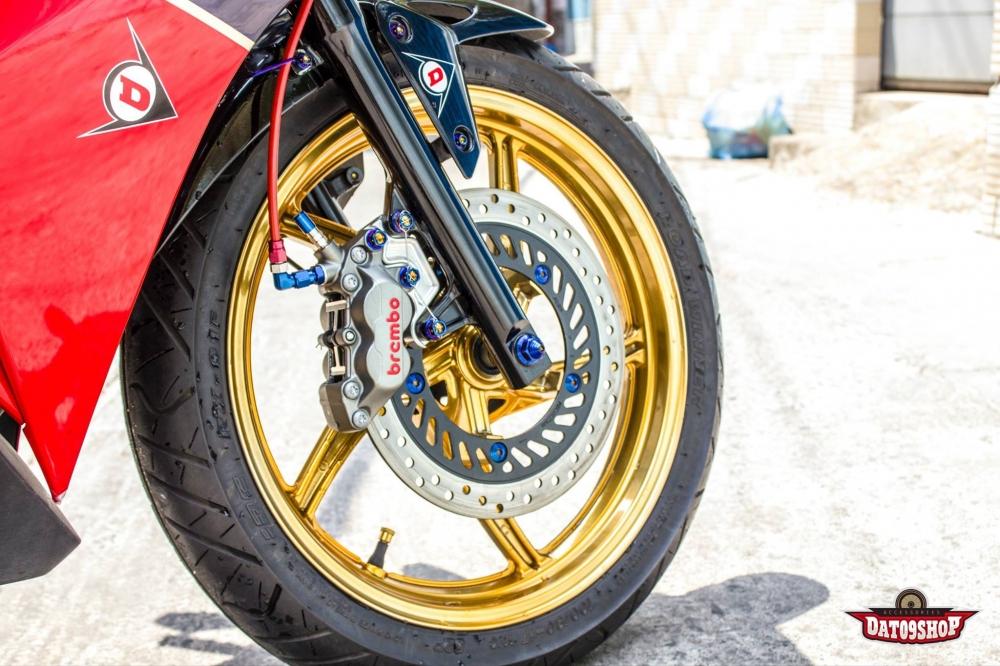 Honda CBR150 do day phong cach cua biker Viet - 7