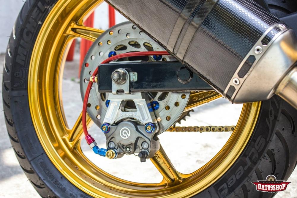 Honda CBR150 do day phong cach cua biker Viet - 9