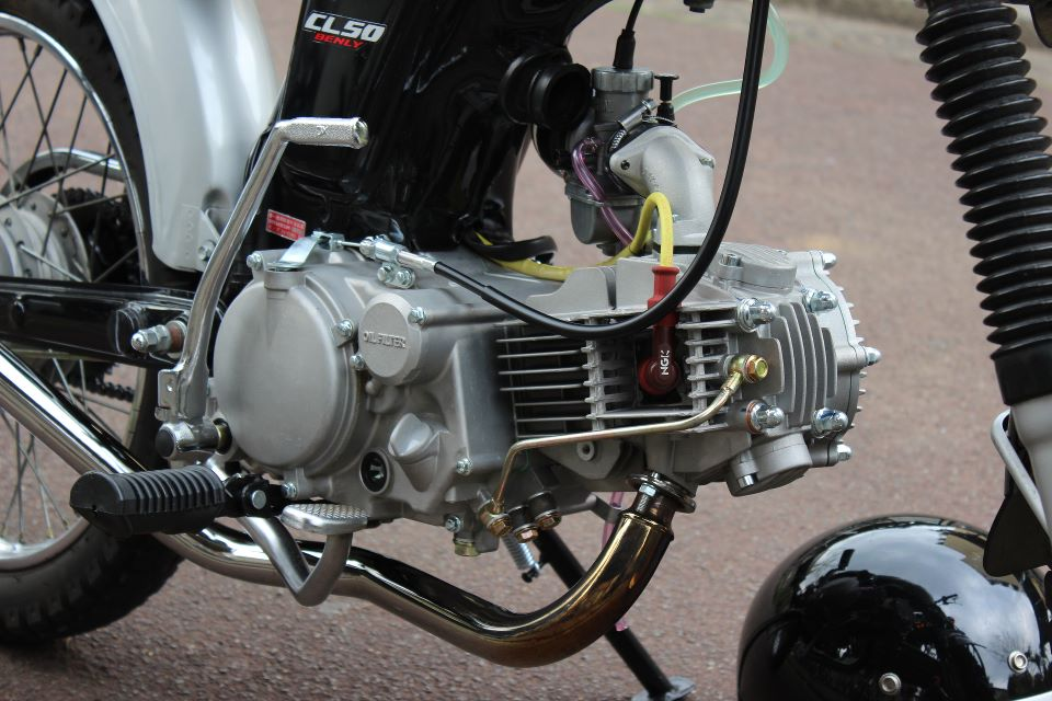 Honda CL 50 net dep den tu nhung gi don gian nhat - 10
