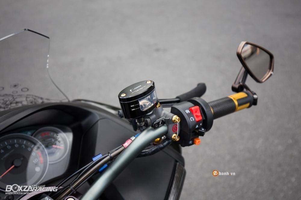 Honda Forza day noi bat va phong cach voi phien ban Super Black - 6