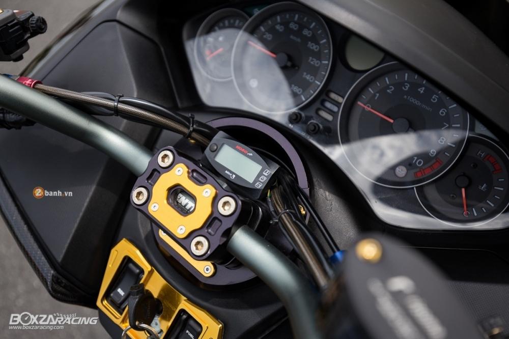 Honda Forza day noi bat va phong cach voi phien ban Super Black - 8