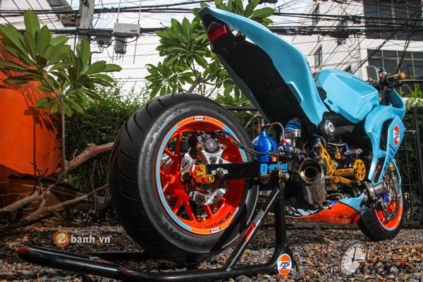 Honda MSX do doc dao voi phien ban Sportbike CBR - 17