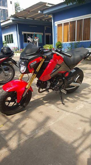 Honda Msx mot dua con tinh than - 7