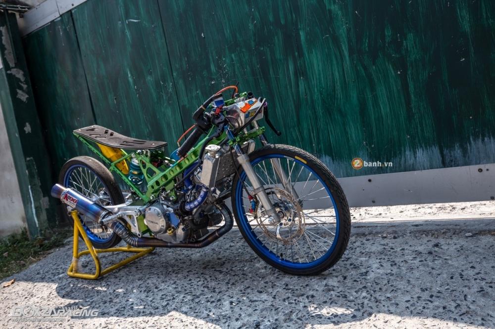 Honda Sonic do dam chat phong cach dragbike doc dao - 2