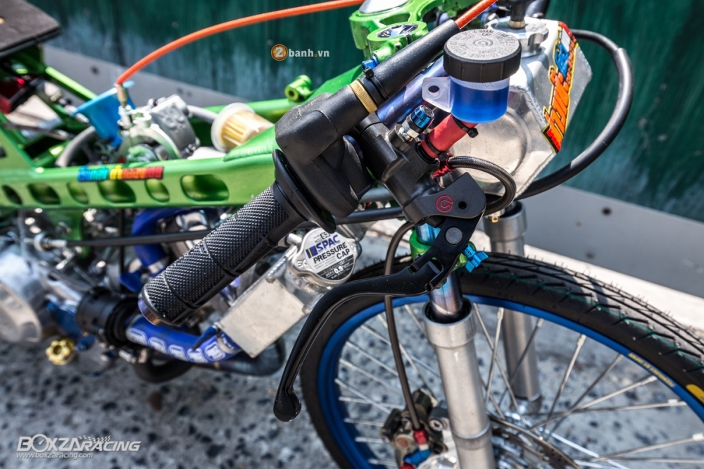 Honda Sonic do dam chat phong cach dragbike doc dao - 4