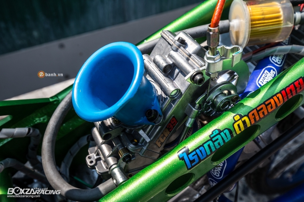 Honda Sonic do dam chat phong cach dragbike doc dao - 12
