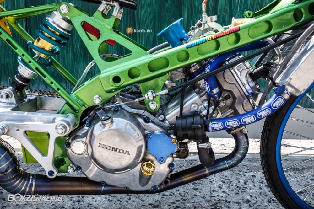 Honda Sonic do dam chat phong cach dragbike doc dao - 14