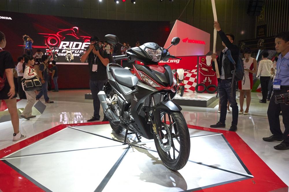Honda Viet Nam cung hang loat mau xe dinh dam tai Vietnam Motorcycle Show 2016 - 2