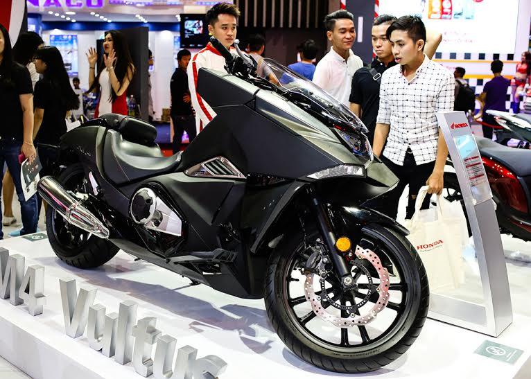Honda Viet Nam cung hang loat mau xe dinh dam tai Vietnam Motorcycle Show 2016 - 13