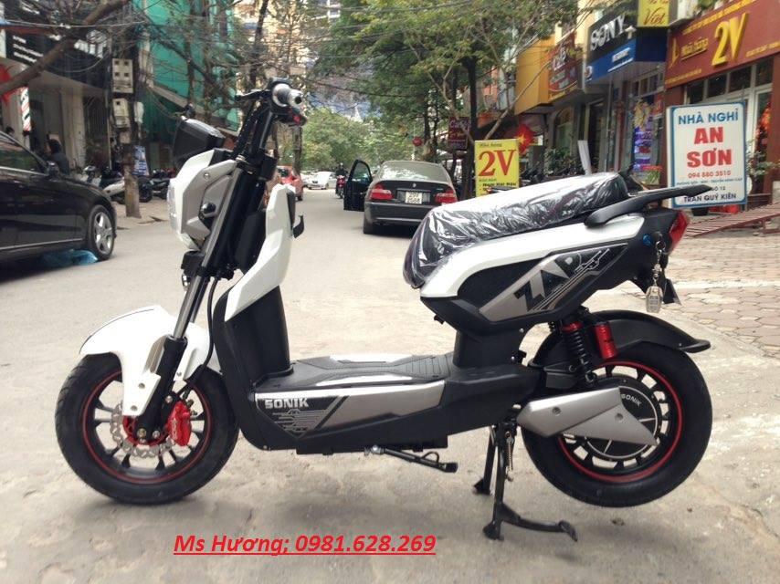 Cua hang xe may dien chuyen cung cap cac loai Nijia Giant m133 Vespa946 Milan II Chinh Hang - 8