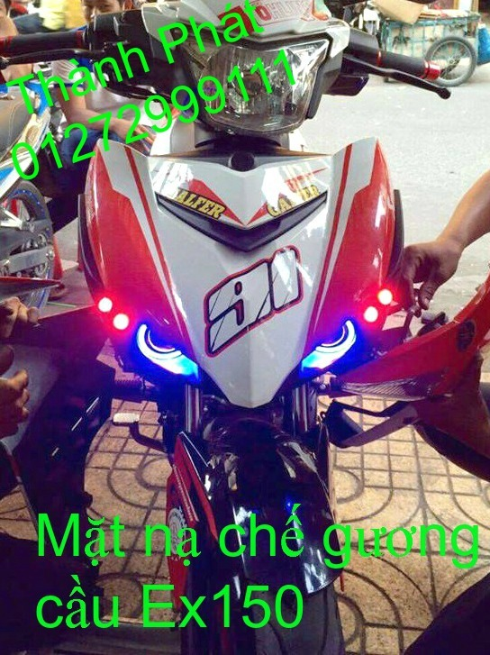 Do choi Exciter 150 tu A Z Po do Chan bun sau kieng kieu Bao tay Tay thang Xinhan kieu S - 10
