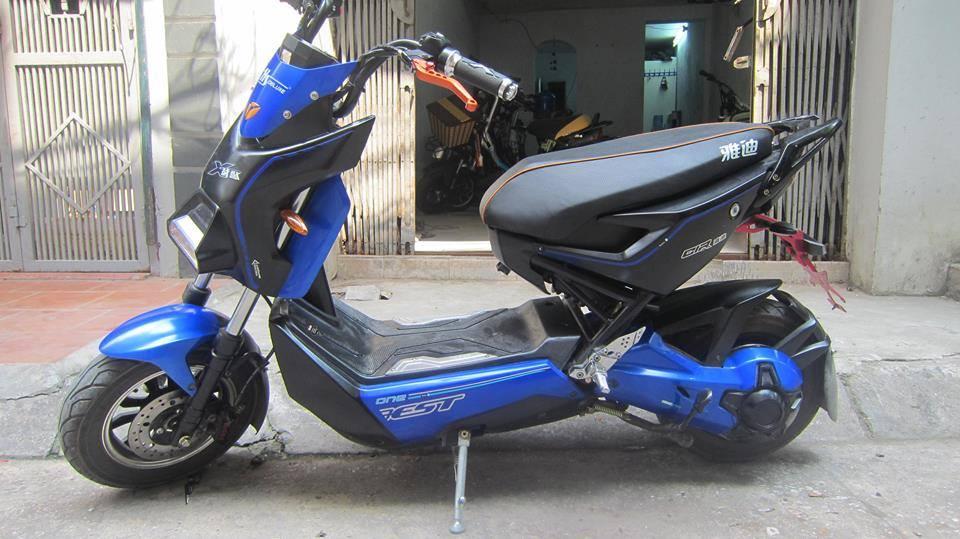 Mua ban xe dien cu Ninja M133 Mocha Xmen Yamaha 094 444 5733 - 3