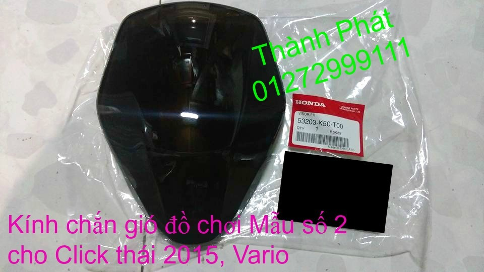 Phu tung Honda Click i 125 doi 2015 thailan Va Vario150 Gia tot - 7